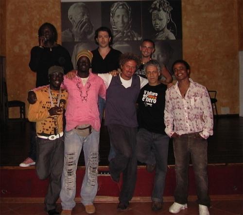 Artale Afro Percussion Band con Niccolo Fabi Baobab, Roma 2007