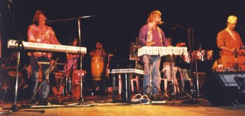 Tony Esposito ospite dell'Artale AfroPercussion Band-Orchestra- 2001