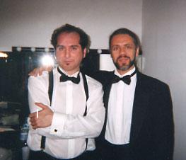 Vinicio Capossela e Ruggero Artale - A Satyricon 2001. Guardalo anche sul mio canale youtube cliccando su playlist e poi Collaborazioni (al minuto 7.52).
